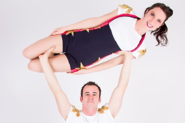 Acrobatics, hula hoops and banter as Jason and Kylie ponder whether kids really are stinky